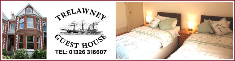 Guest House Accommodation in Falmouth - Trelawney Guesthouse