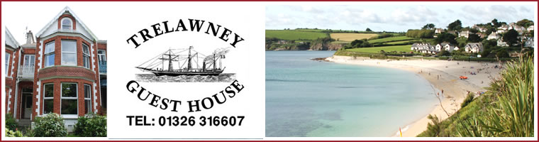 Falmouth Guest House - Trelawney Guest House for bed and breakfast in Cornwall