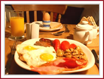 Falmouth Guest House - Breakfast with choice at Trelawney Guest House, Falmouth, Cornwall